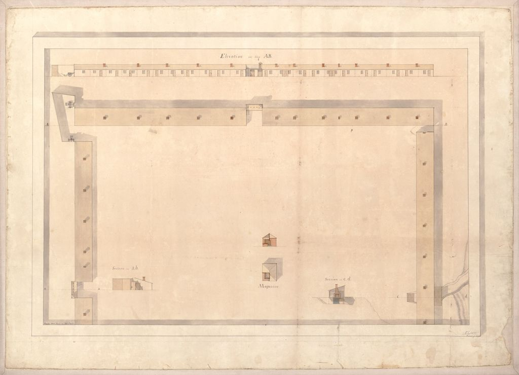 [Plan of Fort Atkinson, Nebraska].