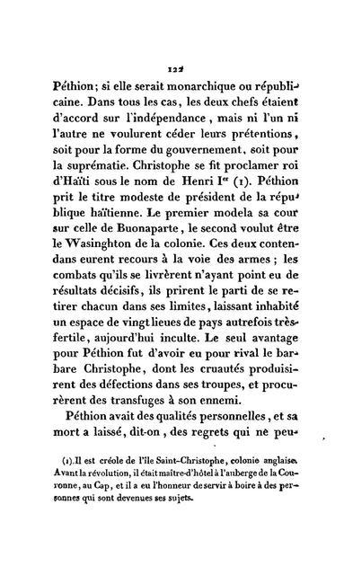Précis historique de la révolution de Saint-Domingue. Réfutation de certains ouvrages publiés sur les causes de cette révolution. De l'état actuel de cette colonie, et de la n'ecessité d'en recouvrer la possession.