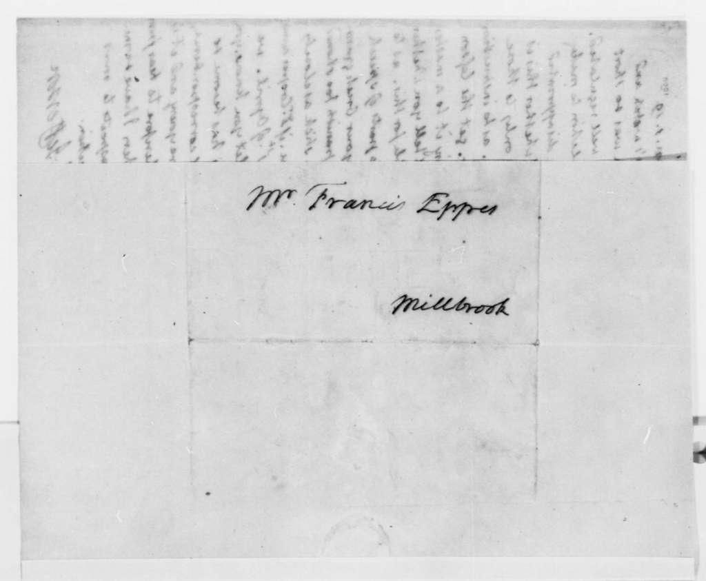 Thomas Jefferson to Francis Eppes, January 1, 1819