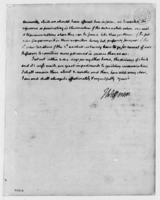 Thomas Jefferson to John Adams, July 9, 1819