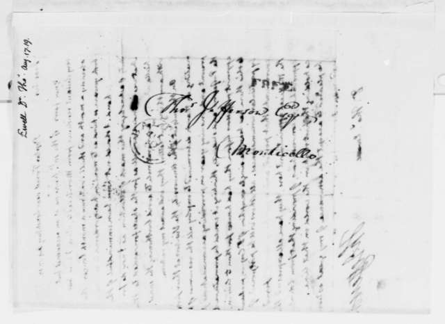 Thomas Jefferson to Thomas Ewell, August 17, 1819
