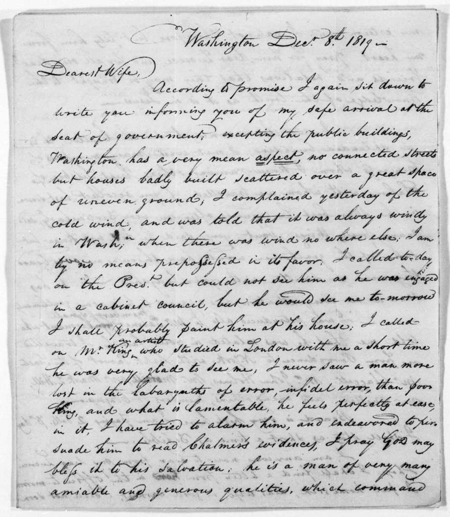 Unbound letters---1819