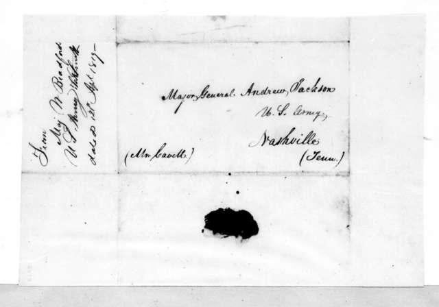 William Bradford to Andrew Jackson, April 21, 1819