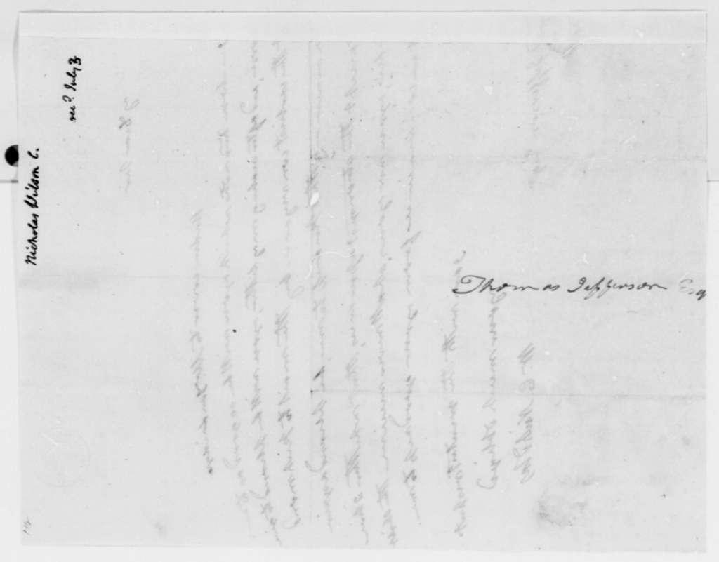 Wilson Cary Nicholas to Thomas Jefferson, July 3, 1819