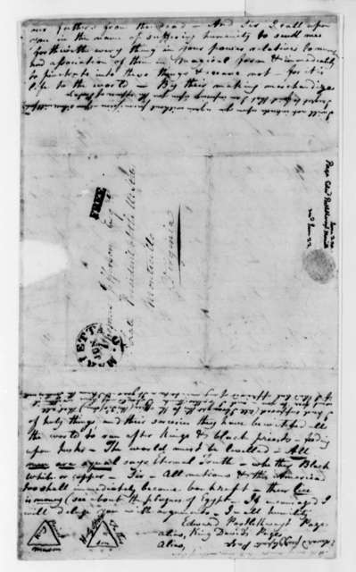 Edward Postlethwayt Page to Thomas Jefferson, June 3, 1820