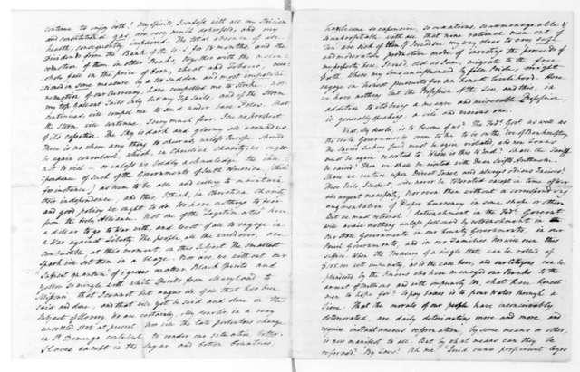 Francis Corbin to James Madison, November 13, 1820.