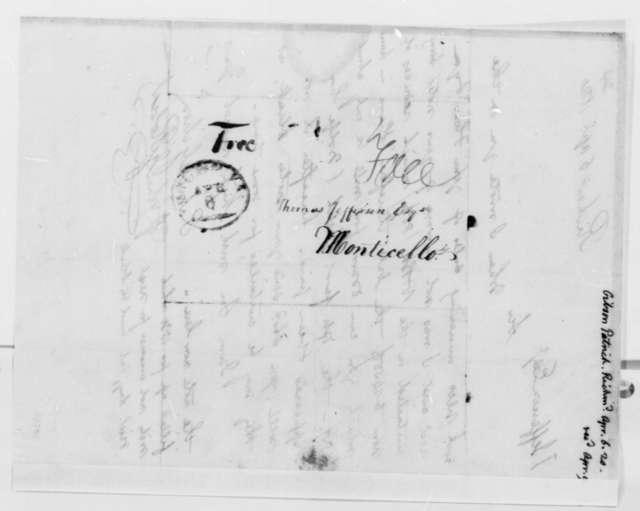 Patrick Gibson and John G. Robert to Thomas Jefferson, April 6, 1820
