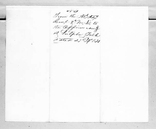 Perrin Willis to Unknown, September 22, 1820
