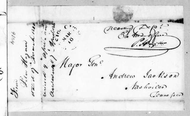 Peter Hagner to Andrew Jackson, March 17, 1820