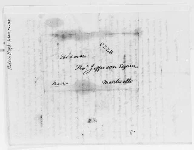 Thomas Jefferson to Hugh Nelson, March 12, 1820
