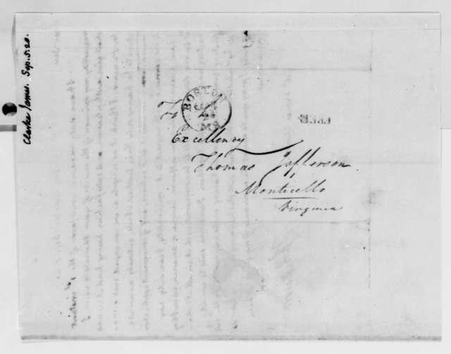 Thomas Jefferson to James Clarke, September 5, 1820