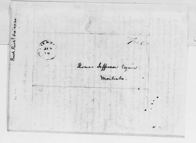 Thomas Jefferson to Richard Rush, December 27, 1820