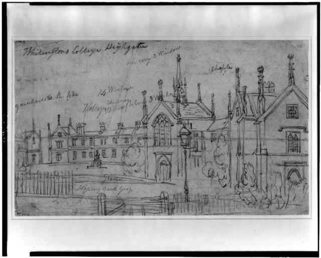 Whitingtons [i.e. Whittington] College, Highgate
