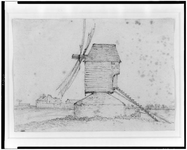 [Windmill on the hill of Montmartre]