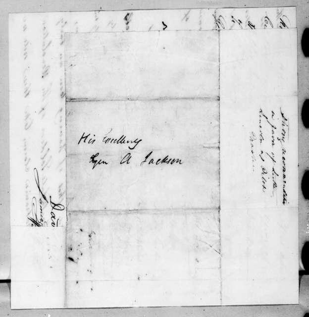 Abner Lawson Duncan et al. to Andrew Jackson