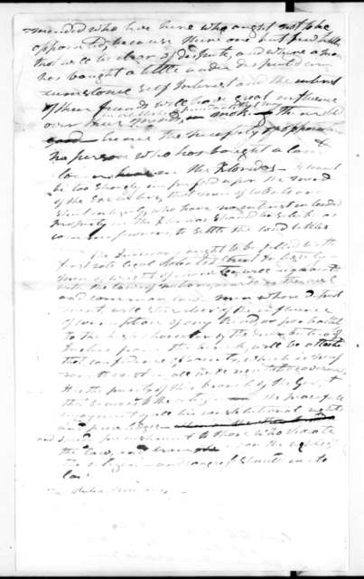 Andrew Jackson to John Caldwell Calhoun, July 17, 1821