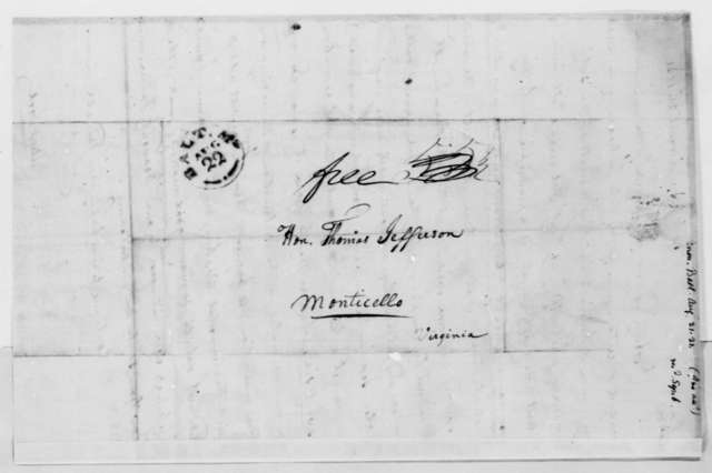 Anonymous to Thomas Jefferson, August 21, 1821, Signed Publick Good