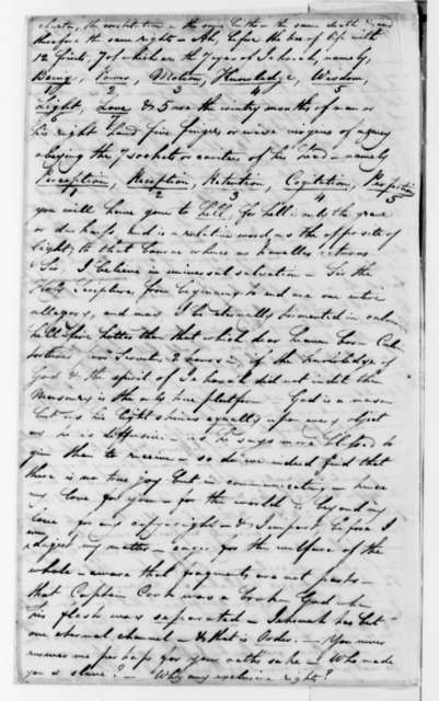 Edward Postlethwayt Page to Thomas Jefferson, February 18, 1821