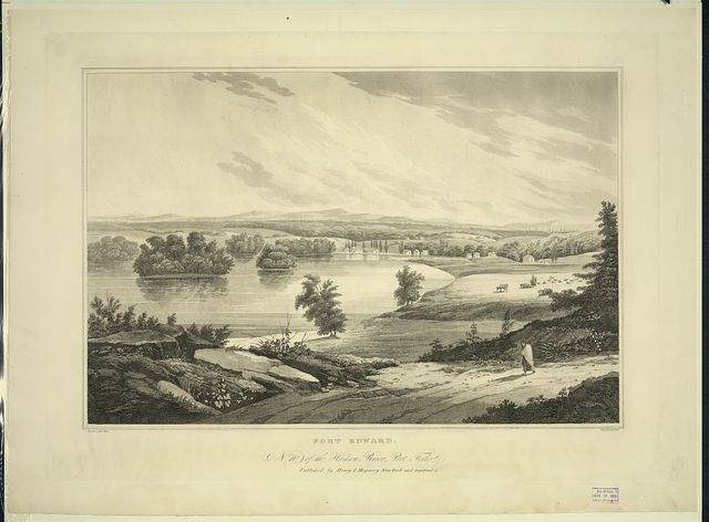 Fort Edward / painted by W.G. Wall ; engraved by I. Hill.