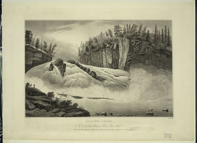 Hadley's Falls / painted by W.G. Wall ; engraved by J.R. Smith ; finished by J. Hill.