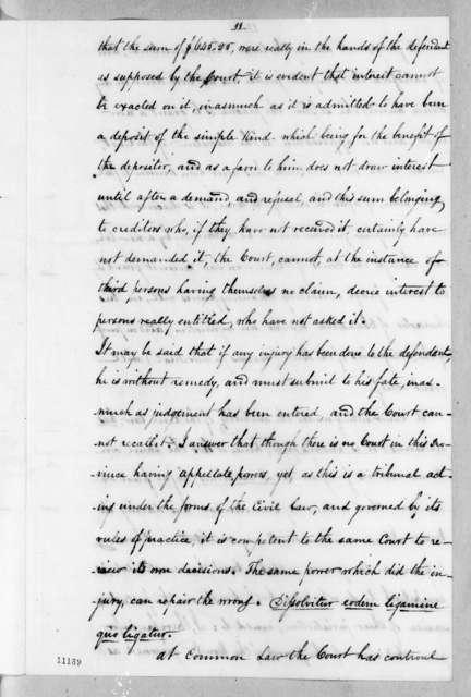 Heirs Vidal to John Innerarity, December 10, 1821