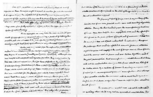 James Madison to Mathew Carey, May 26, 1821.
