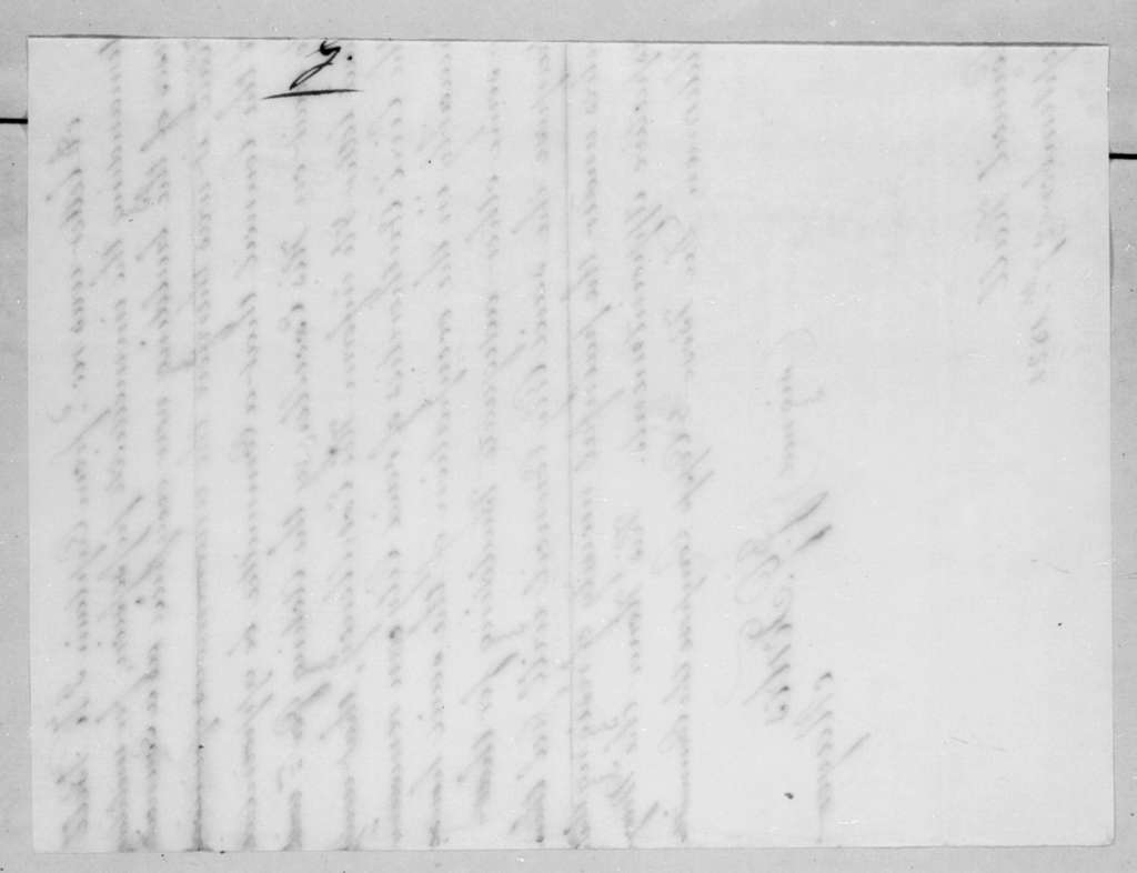 John G. Forbes to William Grafton Dulany Worthington, September 27, 1821