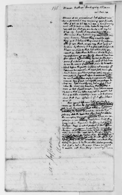 Thomas Jefferson to Nathaniel Macon, November 1821