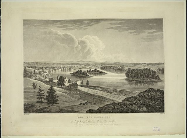 Troy from Mount Ida / painted by W.G. Wall ; engraved by I.R. Smith ; finished by J. Hill.