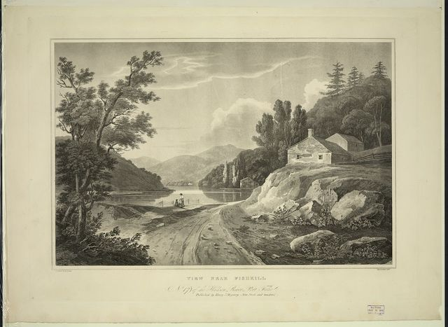 View near Fishkill / painted by W.G. Wall ; engraved by I. Hill.