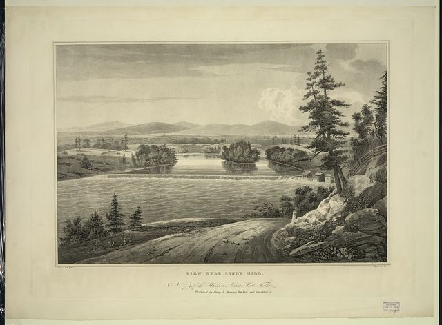 View near Sandy Hill / painted by W.G. Wall ; engraved by I. Hill.
