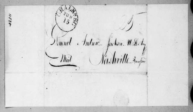 Catalina Mir Satorios to Andrew Jackson, June 7, 1822