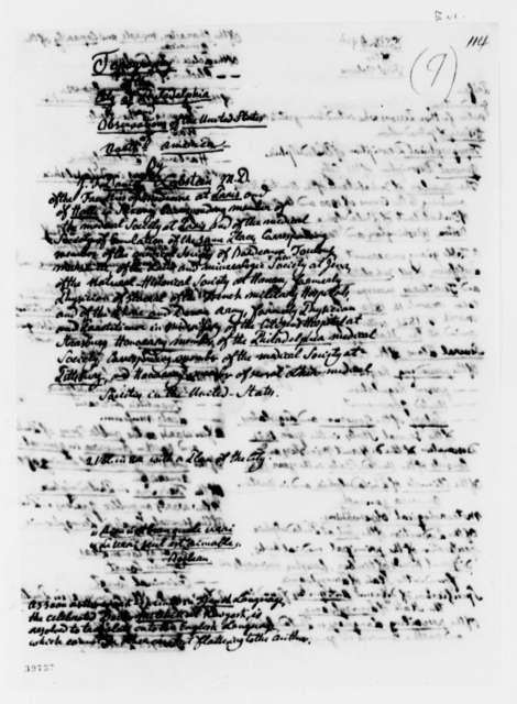 Daniel J. F. Lobstein to Thomas Jefferson, September 6, 1822, with List and German Circular