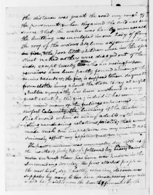 Elijah Griffiths to Thomas Jefferson, January 28, 1822