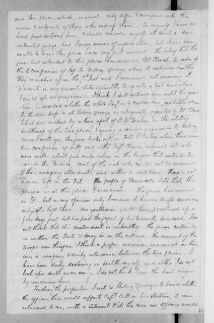 James McMillan Glassell to Andrew Jackson, October 10, 1822