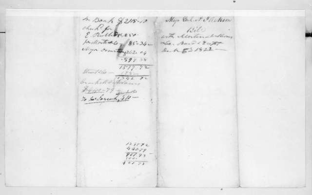 James Stewart & Co to Andrew Jackson, December 6, 1822