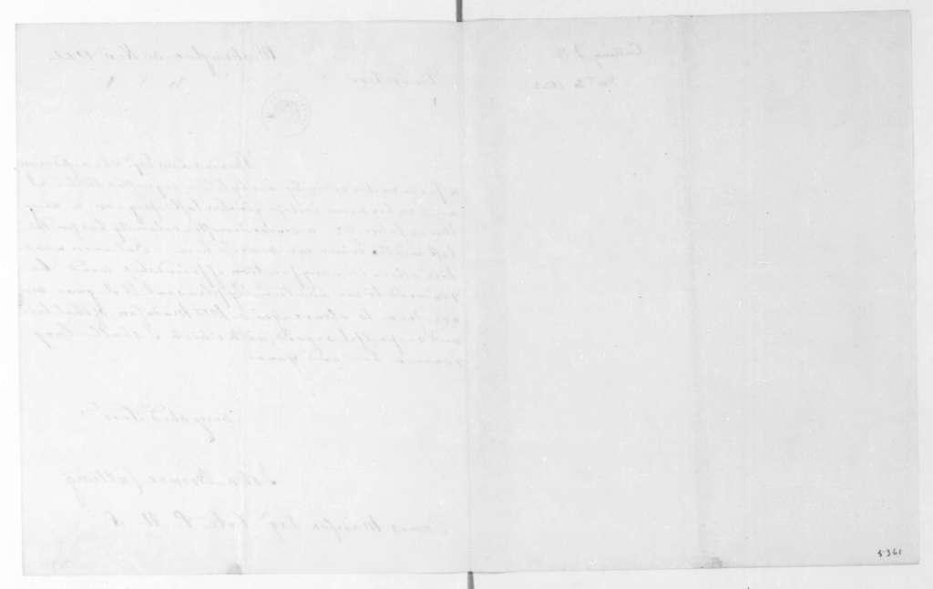 John Browne Cutting to James Madison, November 30, 1822.
