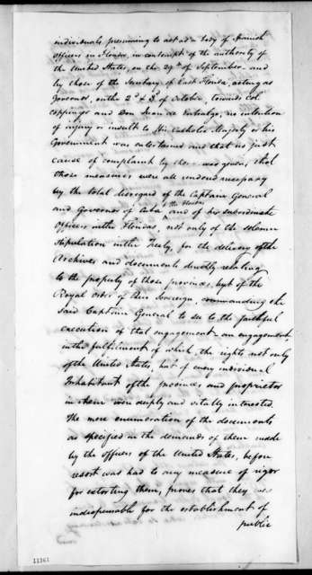 John Quincy Adams to Joaquin de Anduaga, April 15, 1822