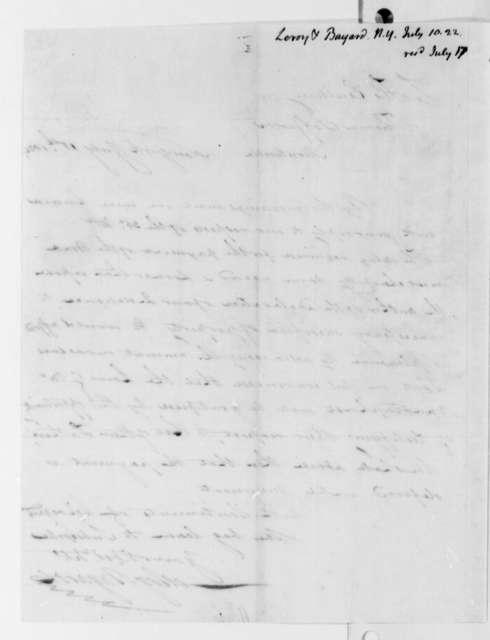 Leroy-Bayard & Company to Thomas Jefferson, July 10, 1822