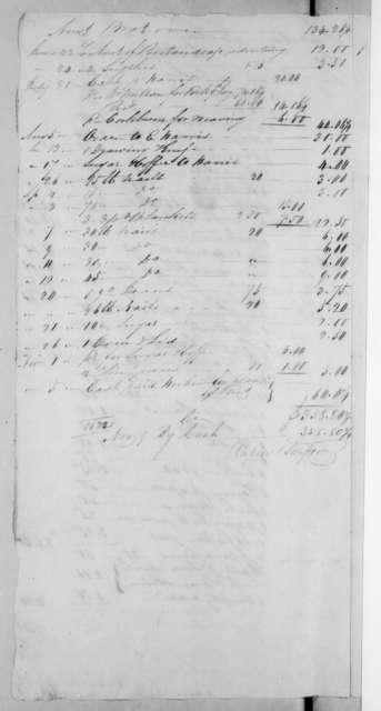 Rapier & Simpson to Andrew Jackson, November 9, 1822