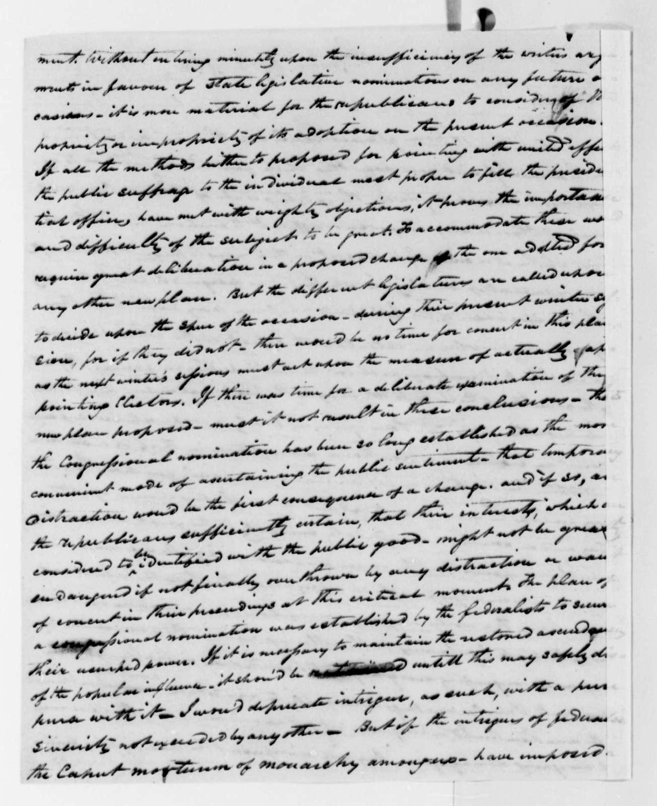 Thomas G. Watkins to Thomas Jefferson, December 2, 1822
