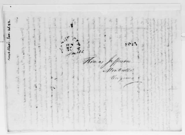 Thomas Jefferson to Alexander Keech, January 26, 1822