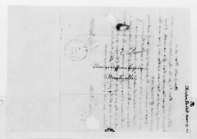 Thomas Jefferson to Dewitt Clinton, March 19, 1822