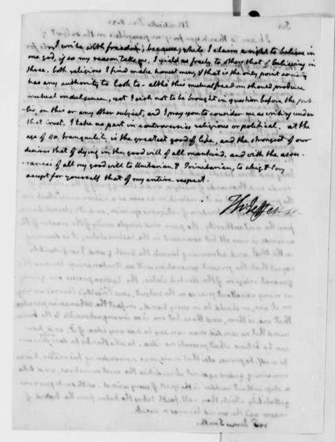 Thomas Jefferson to James Smith, December 8, 1822