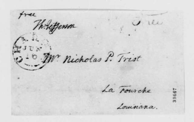 Thomas Jefferson to Nicholas P. Trist, June 14, 1822, with List of Books
