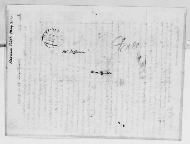 Thomas Jefferson to Richard Harrison, May 31, 1822