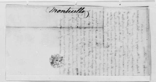 Thomas Jefferson to William Annesley, November 20, 1822