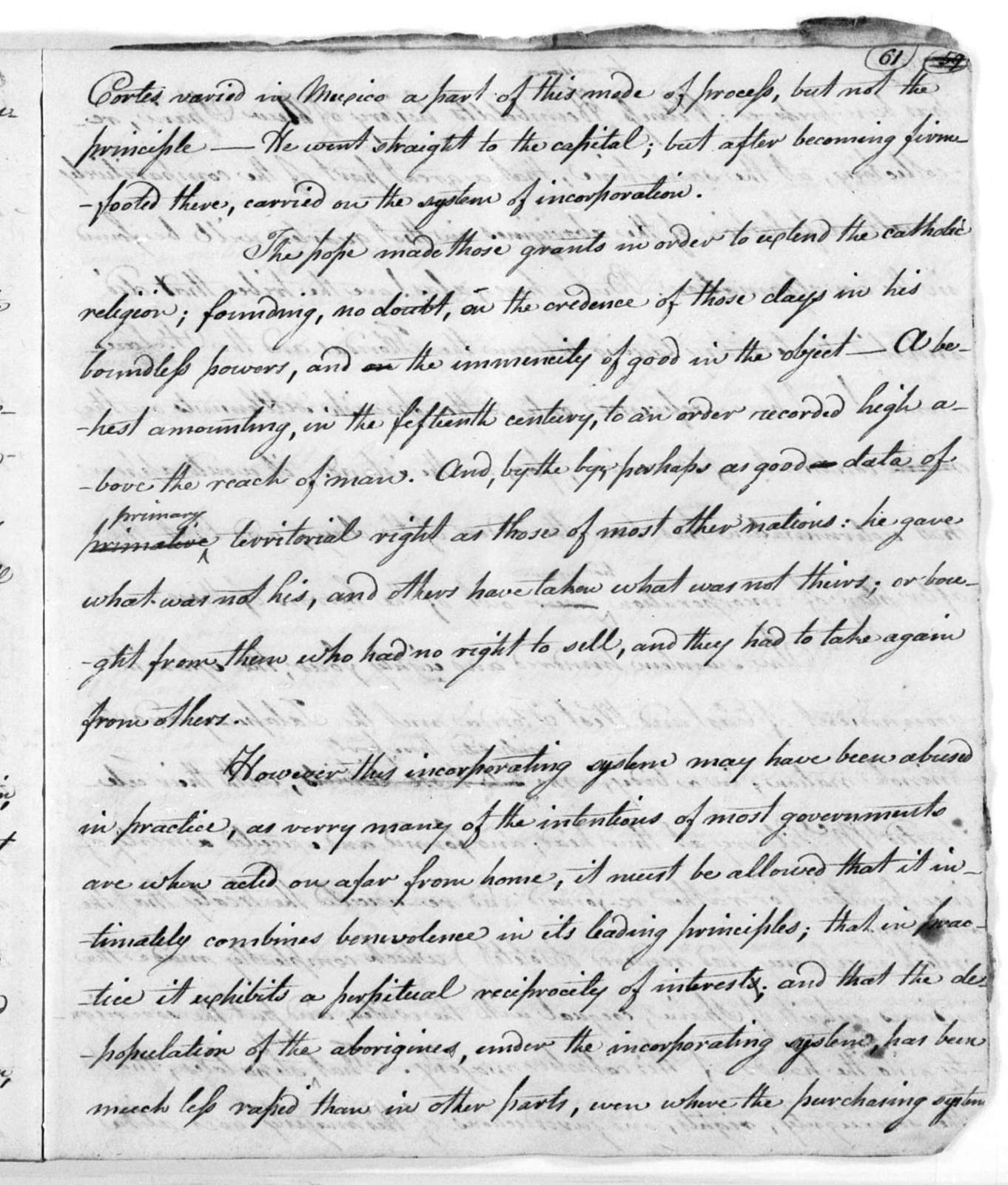 Unbound letters---1822