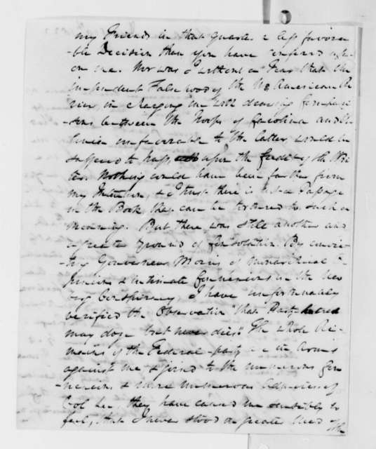 William Johnson to Thomas Jefferson, December 10, 1822