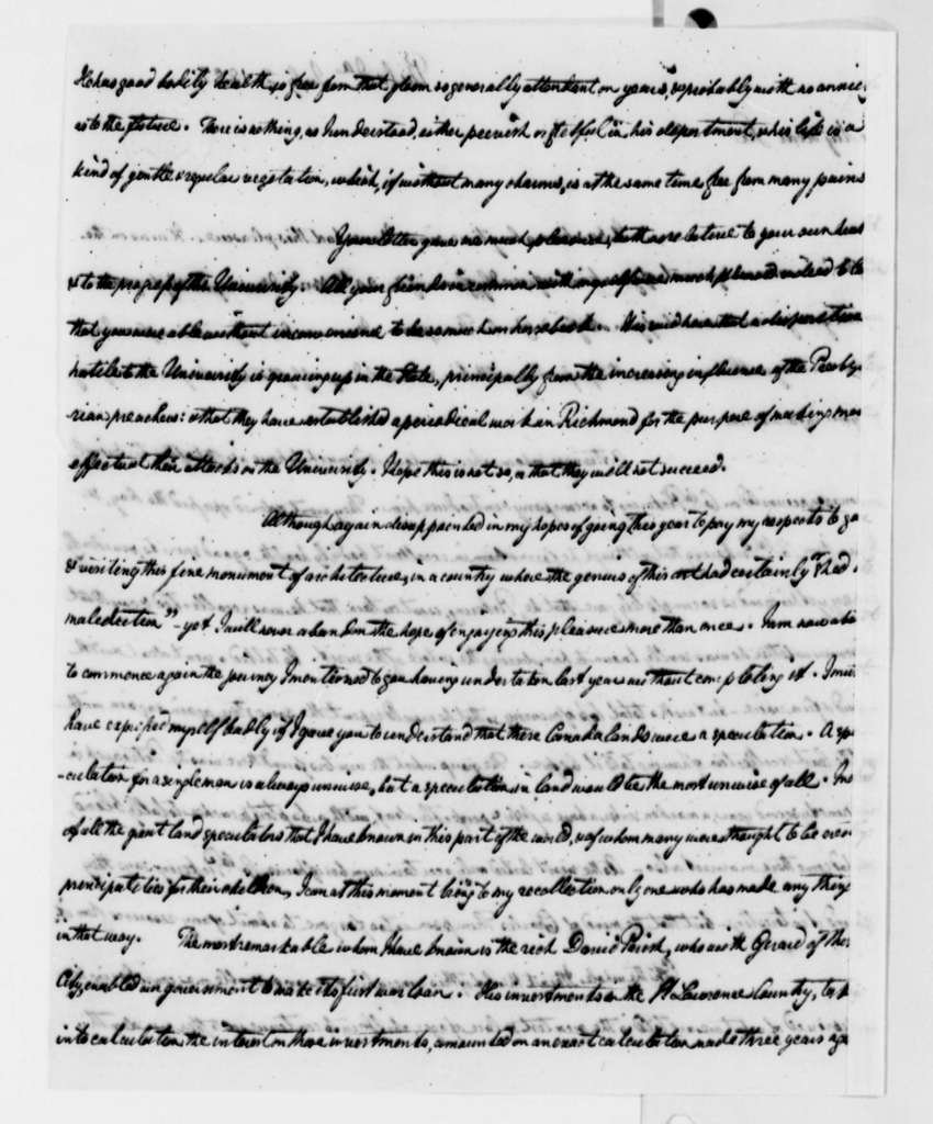 William Short to Thomas Jefferson, July 2, 1822